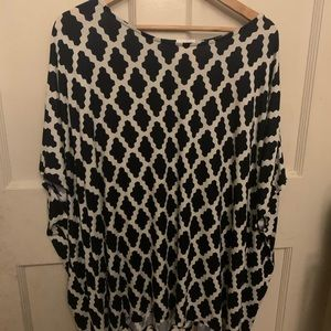 HOURGLASS LILLY tunic top size M